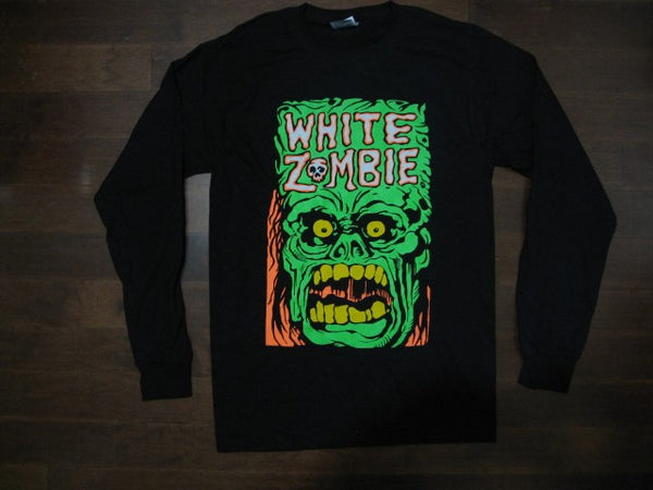 WHITE ZOMBIE‏ - GET UP AND KILL - Long Sleeve - SHIRT