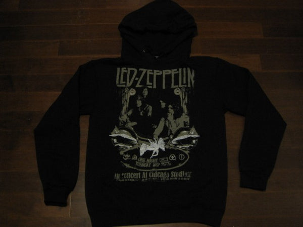 Led Zeppelin  -Vintage Chicago Stadium Concert - Hoodie
