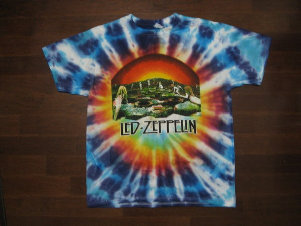 Led Zeppelin - Houses Of The Holy- Tie- Dyed /  T-shirt