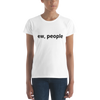 Image of COTTON T-SHIRT EW, PEOPLE