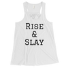 Image of RACERBACK TANK TOP RISE & SLAY