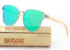 Image of WOODEN POLARIZED SUNGLASSES