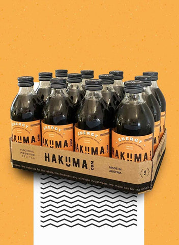 HAKUMA ENERGY Tray (12 x 330ml) - HAKUMA Premium Iced Tea