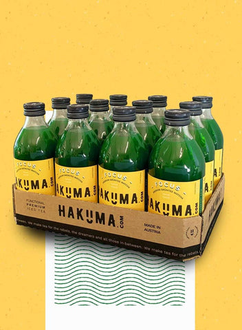 HAKUMA FOCUS Tray (12 x 330ml) - HAKUMA Premium Iced Tea