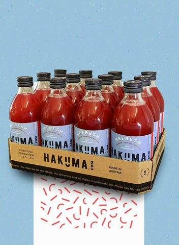 HAKUMA REFRESH Tray (12 x 330ml) - HAKUMA Premium Iced Tea