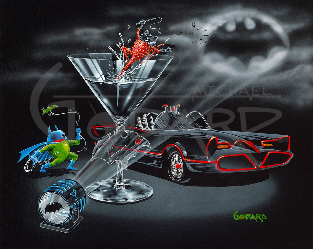 Bat-tini by Michael Godard