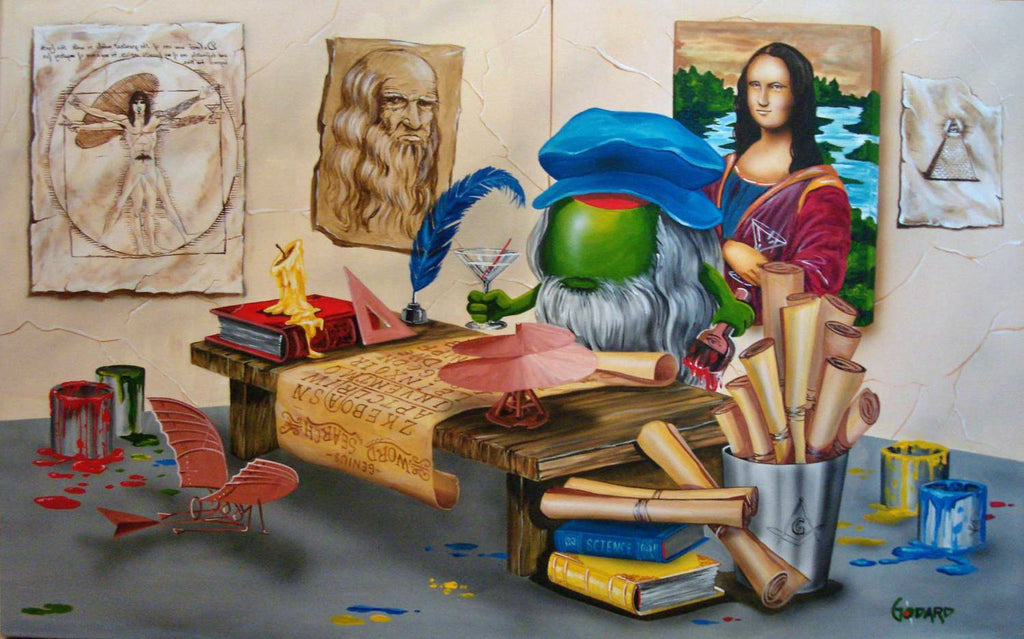 Da Vinci by Michael Godard