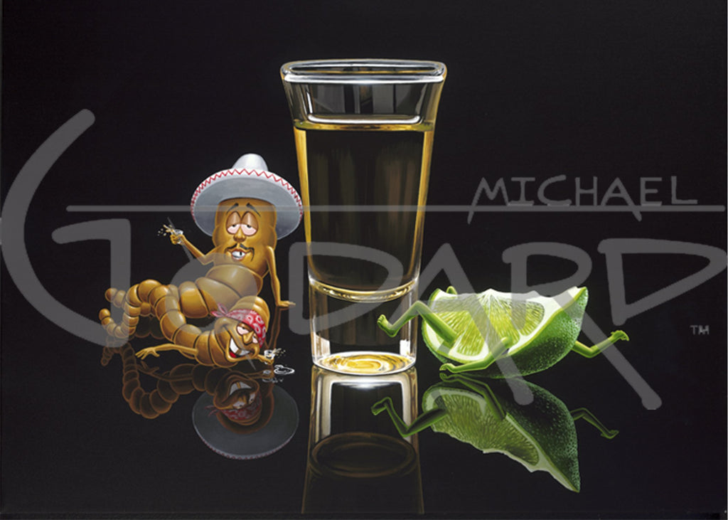 Dos Amigos Borrachos by Michael Godard
