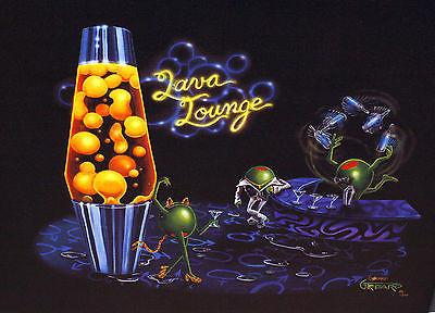 Lava Lounge by Michael Godard