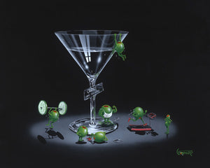 Liquid Diet by Michael Godard