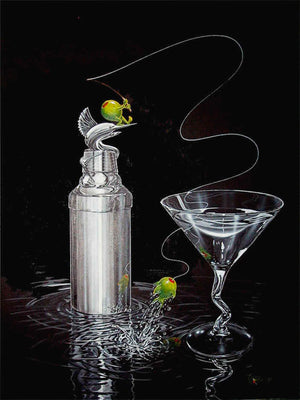 Marlin Martini by Michael Godard