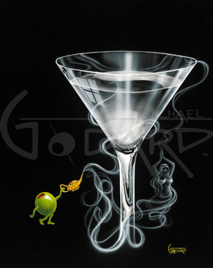 Martini Genie by Michael Godard