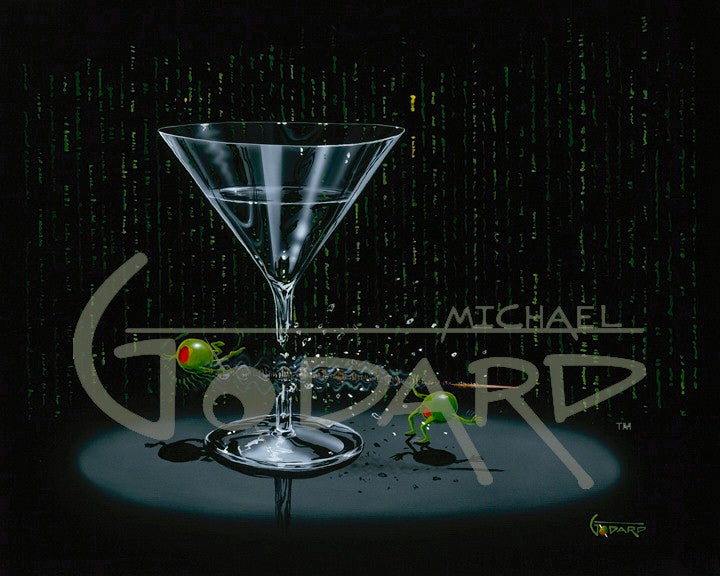 Matrix Martini by Michael Godard