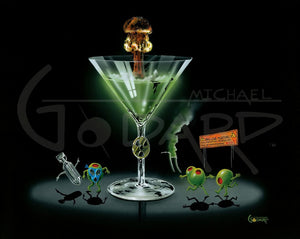 Nuclear Martini by Michael Godard