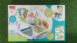 Shears Baby Music Portable Rocker 0-3 Years Old Green - WERONE