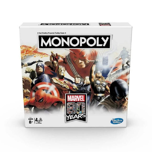 Monopoly Marvel 80 Years Edition Board Game - WERONE