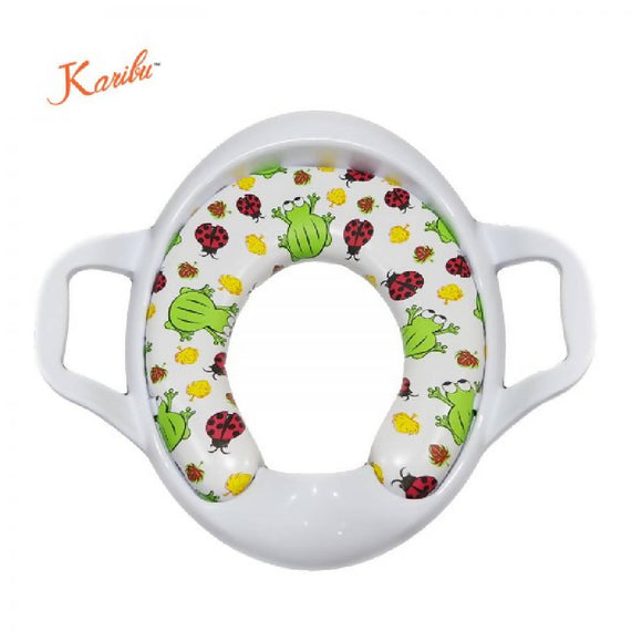 Karibu Cushion Potty Seat with Handle - WERONE