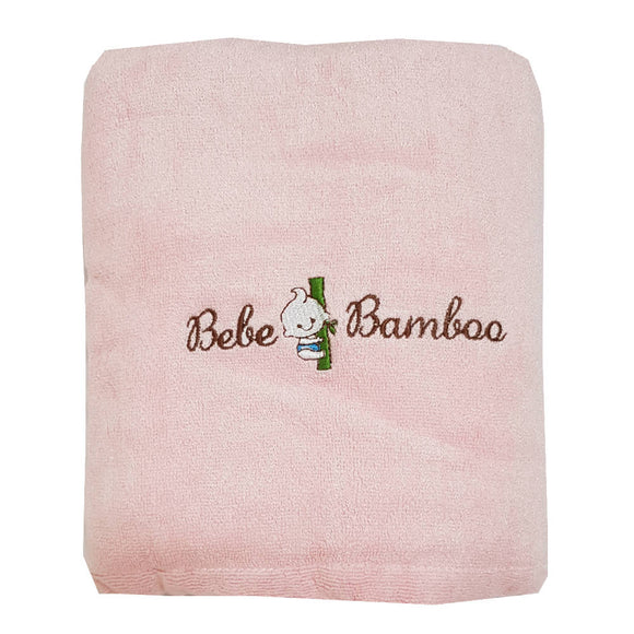 Bebe Bamboo Adult Bath Towel - Pink - WERONE