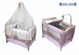 Shears Playpen Pink - WERONE