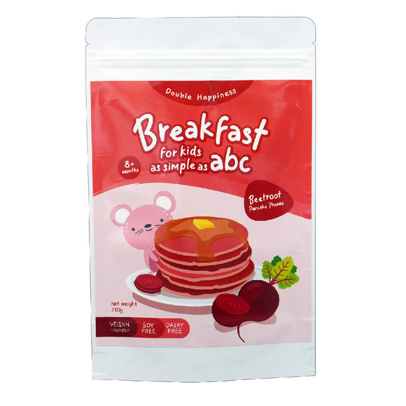 Double Happiness Pancake Premix - Beetroot