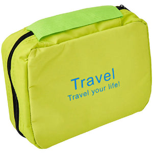 Adventure World Travel Toiletries Bag (Green) - WERONE