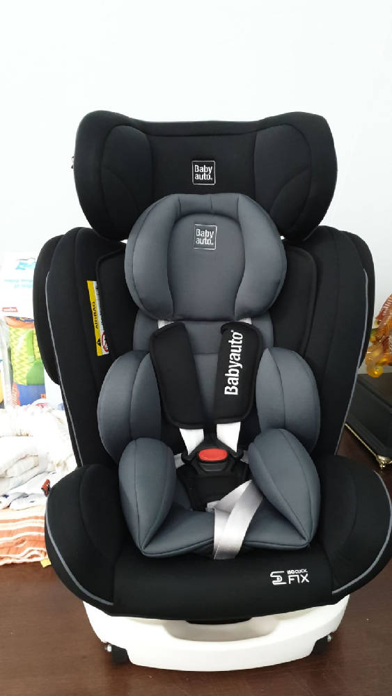 BabyAuto Car Seat Grey - WERONE