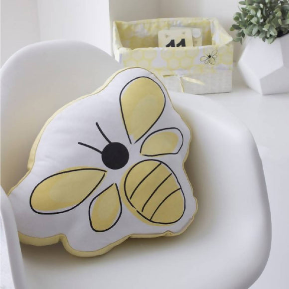 Bubba Blue Bee Beautiful Novelty Cushion - WERONE