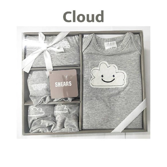 Shears Muji Gift Set 4 PCS Gift Set Cloud Set SGM4CL