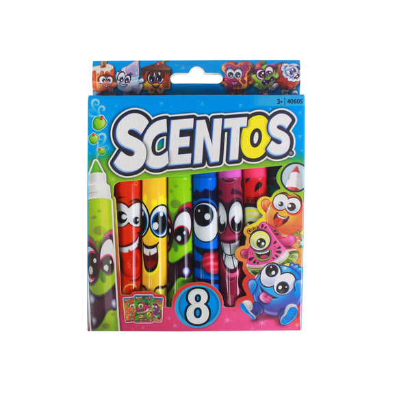 Scentos Scented Classic Markers 8 pieces - Fruitastic collection - WERONE