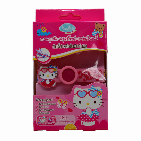 Kindee Mosquito Repellent Wristband 0+ - Kitty - WERONE