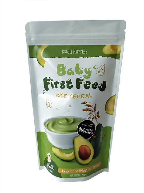 Baby First Feed Avocado Rice Cereal