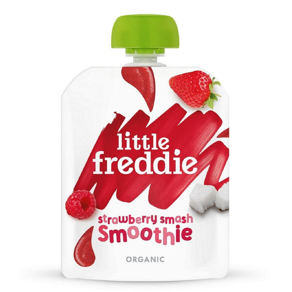 Little Freddie Strawberry Smash Smoothie 90g - WERONE