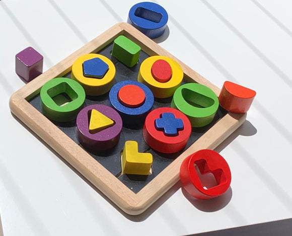Match the Shapes Puzzle - WERONE