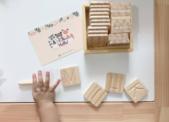 Letters Tracing and Spelling Tiles