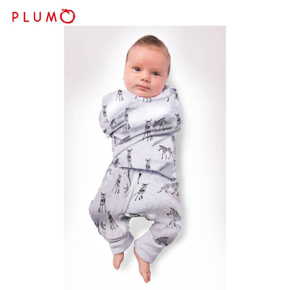 PLUM Swaddle Suit – Zebra - WERONE