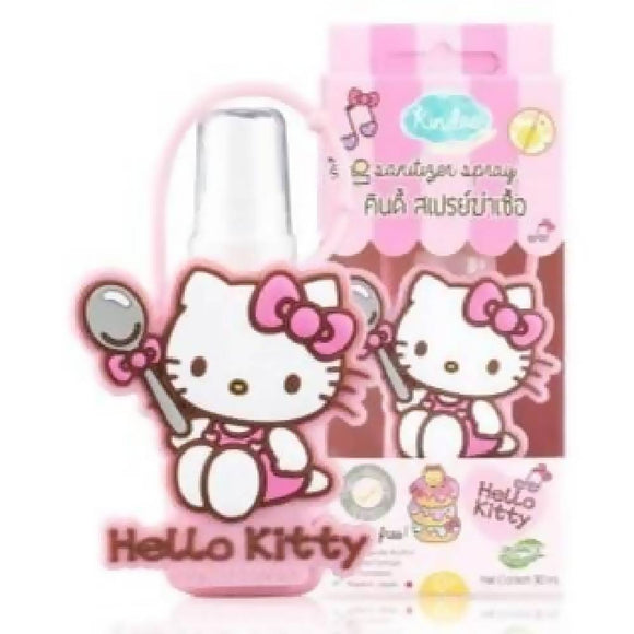 Kindee Sanitizer Spray 0+mths (30ml) + FREE Hello Kitty case from Japan!