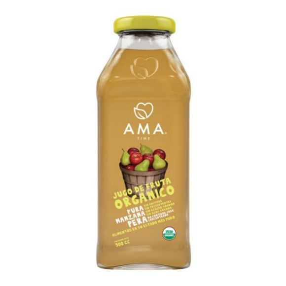 AMA Time Organic Pear and Apple Juice 300ml