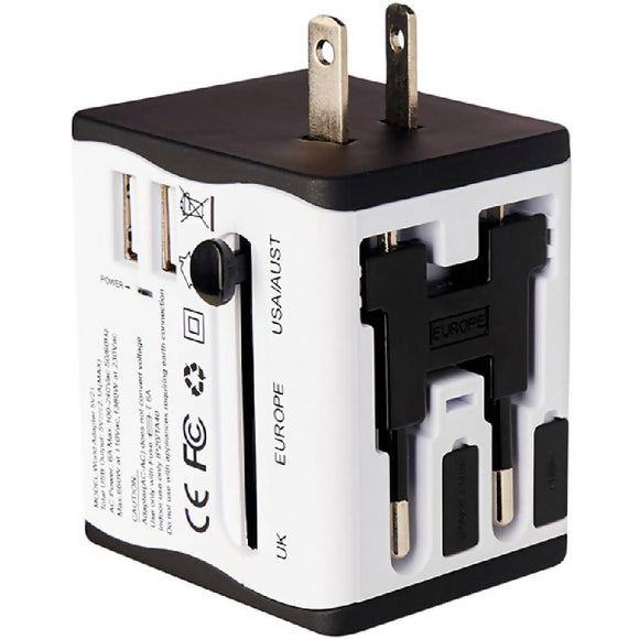 Adventure World Universal Travel Adapter (White) - WERONE