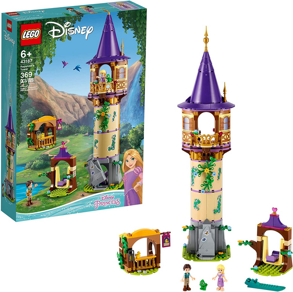 LEGO Disney Rapunzel's Tower 43187 Building Kit for Kids