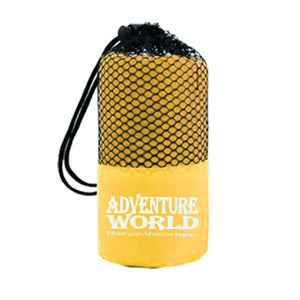 Adventure World Microfibre Bath Towel (Yellow) - WERONE