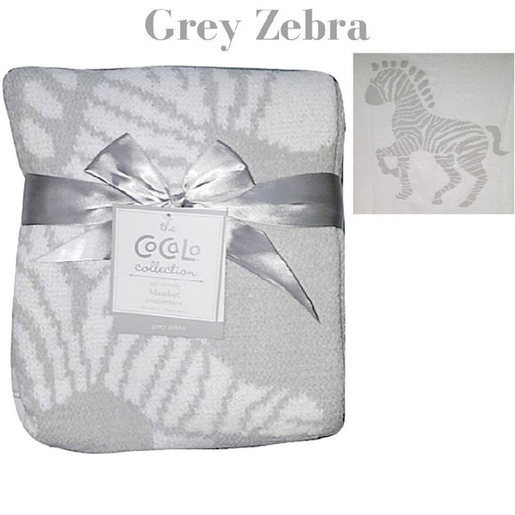Shears Blanket Cocalo Breathable Blanket Grey Zebra CBZ1PC