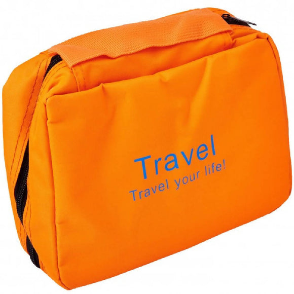 Adventure World Travel Toiletries Bag (Orange) - WERONE