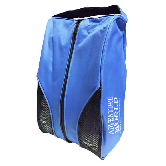 Adventure World Shoe Bag With Compartment (Blue) - WERONE