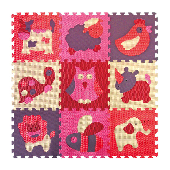 GB Puzzle Mat – Animals-V - WERONE