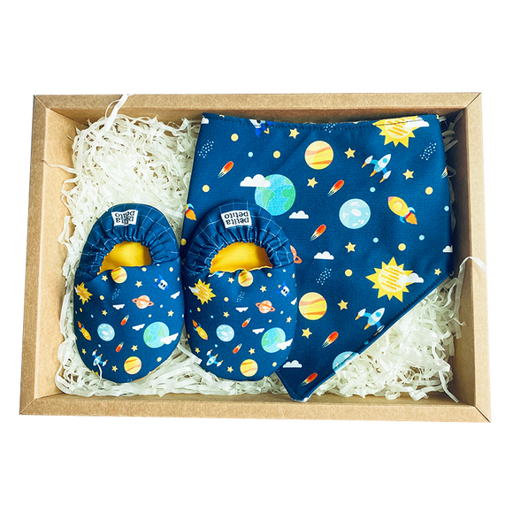 BIB x MINI SHOES GIFT SET - OUTERSPACE - WERONE