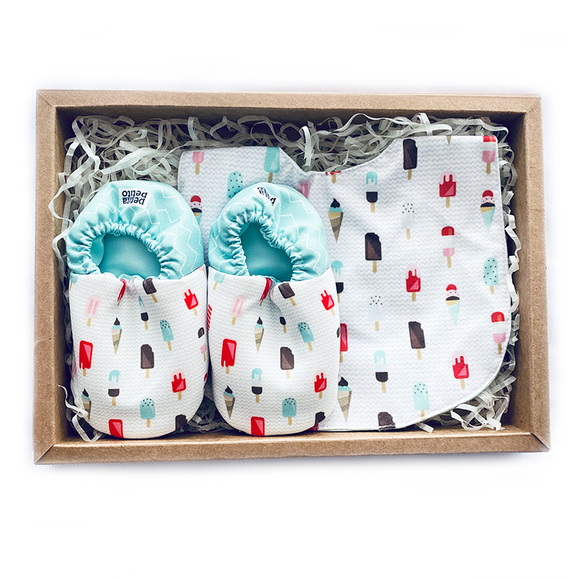 BIB x MINI SHOES GIFT SET - POPSICLES - WERONE