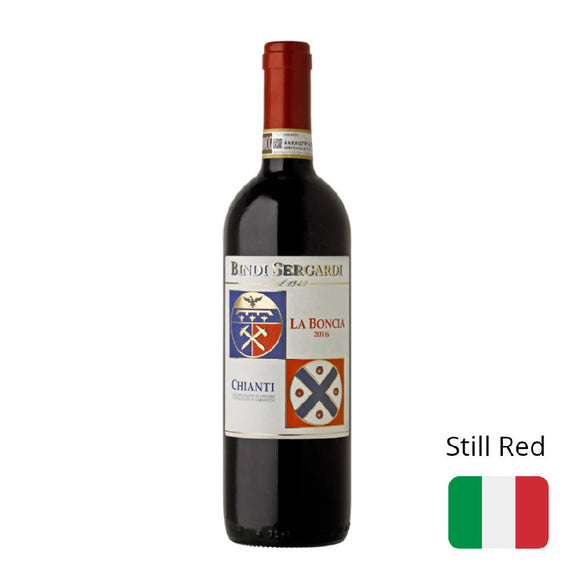 Red Wine Bindi Sergardi Chianti La Boncia DOCG 2016 13% Italy 750ml - WERONE