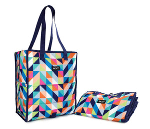 PackIt Grocery Bag Tote Bag, Paradise Breeze - WERONE