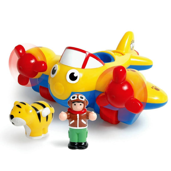 WOW Toys Johnny Jungle Plane - WERONE