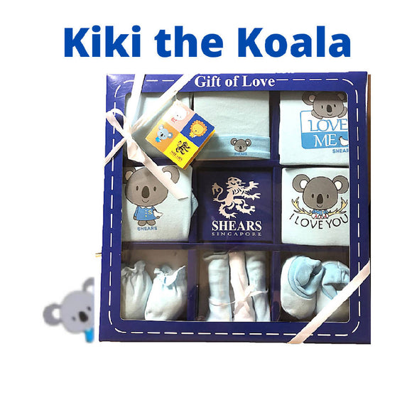 Shears Gift Set Bobblies 10 PCS Gift Set Kiki the Koala SGB10B